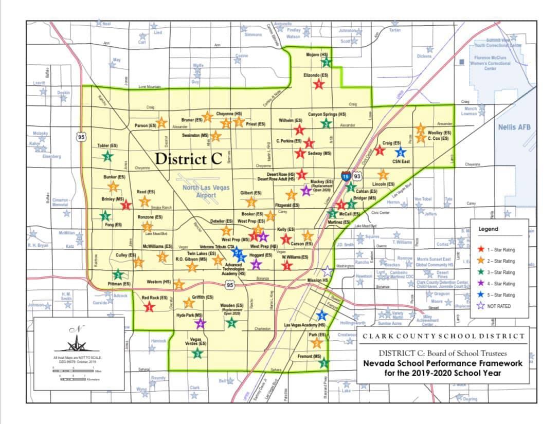 CCSD District C School Map